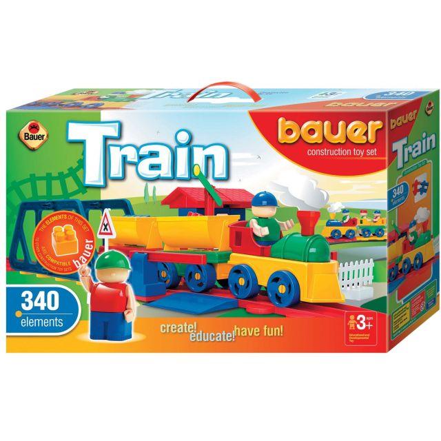 Bauer-Constructie Tren,340pcs