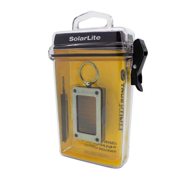 Breloc Lanterna solara True Utility