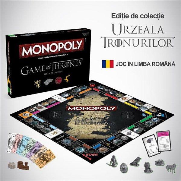 Monopoly Urzeala Tronurilor