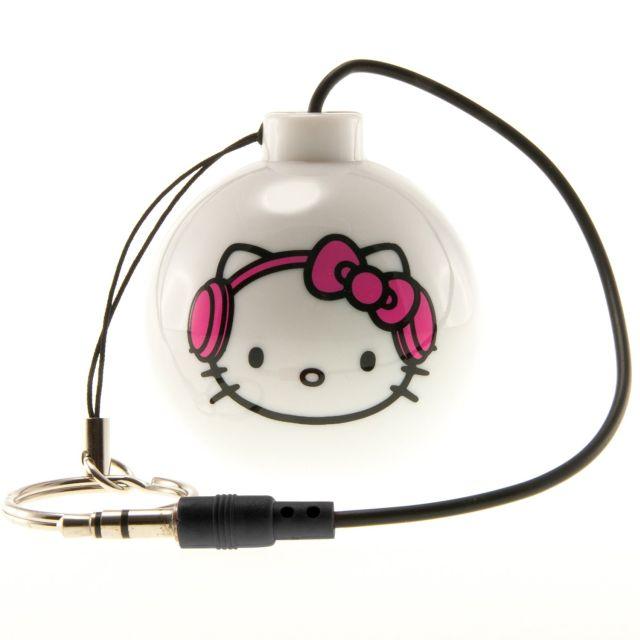Boxa portabila Hello Kitty,alb