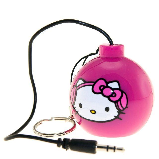 Boxa portabila Hello Kitty, roz