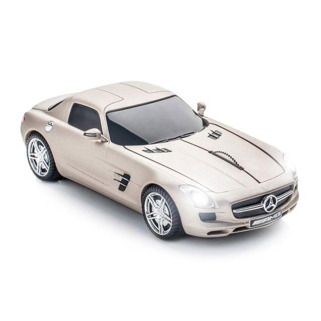 Mouse Mercedes SLS AMG pearl beige matt wireless