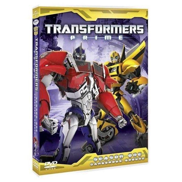 TRANSFORMERS PRIME, SEASON 1, DISC 2