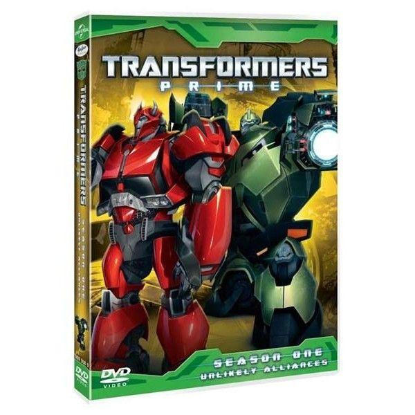 TRANSFORMERS PRIME, SEASON 1, DISC 4