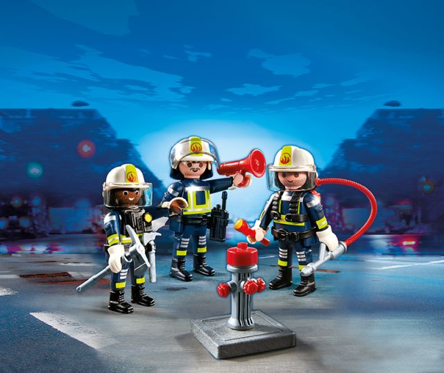Playmobil-echipa de pompieri