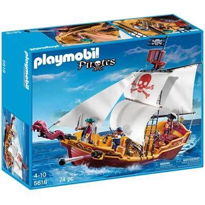 Playmobil-Barca piratilor
