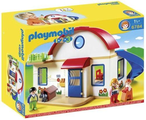 Playmobil-1.2.3. Casa din Suburbie