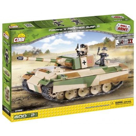 Cobi-Small Army,tanc german PZKPFW V PANTHER AUSFG
