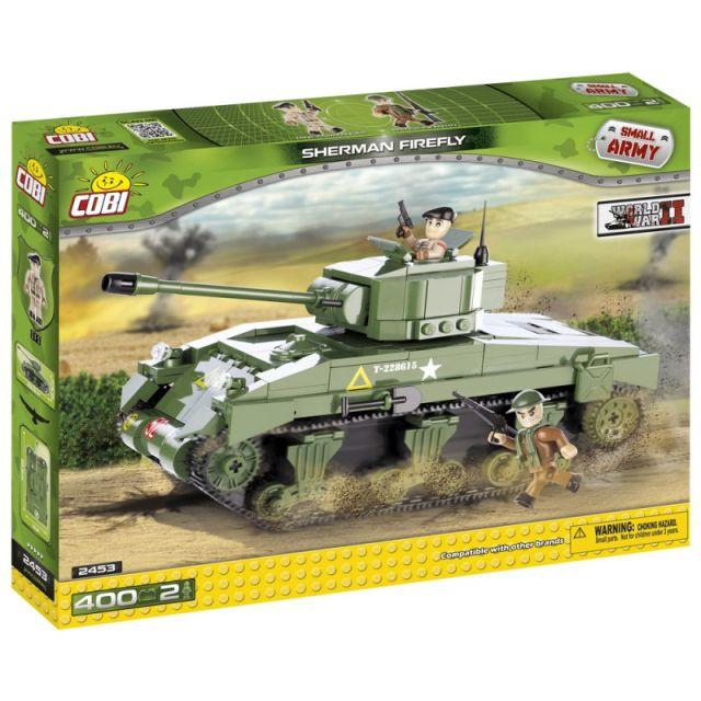 Cobi-Small Army,tanc Sherman Firefly