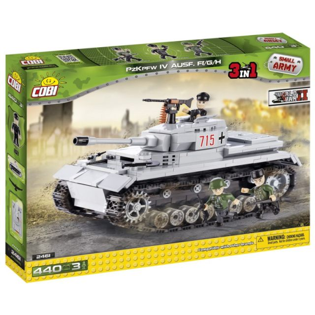 Cobi-Small Army,tanc german PZKPFW IV Ausf.F1