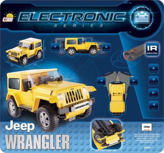 Cobi-Electronic,Jeep Wrangler cu motor si telecomanda