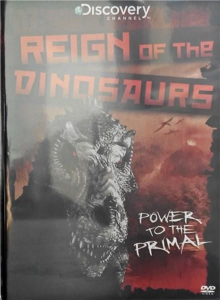 REIGN OF THE DINOSAURS DVD 1 disc