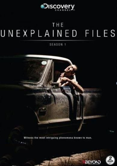 THE UNEXPLAINED FILES S1 DVD 2 disc
