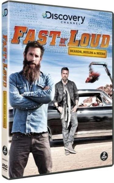FAST N' LOUD: Beards & Builds DVD 2 disc