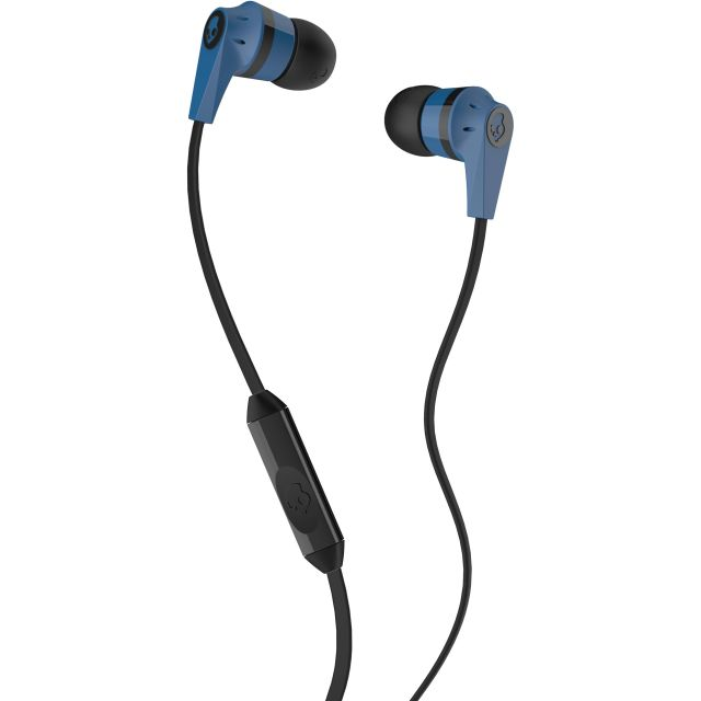 Casti Skullcandy Ink'd Blue Black Mic