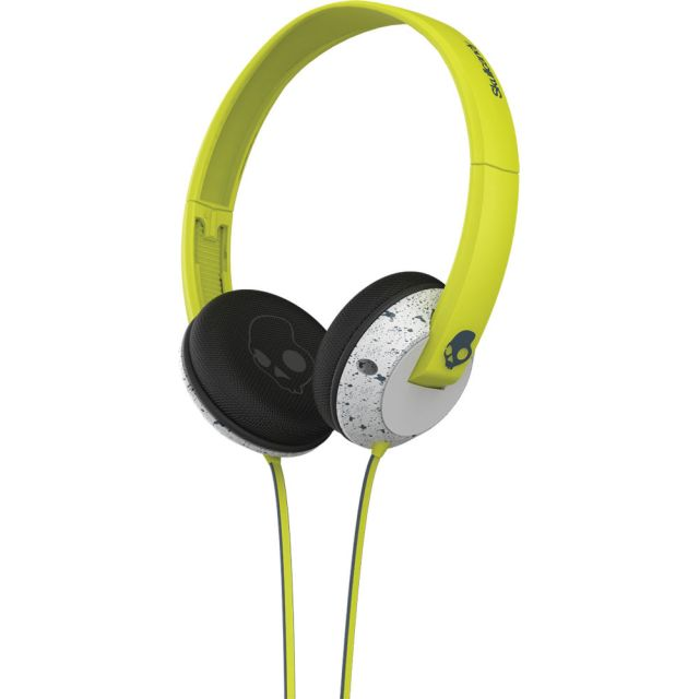 Casti Skullcandy Uprock Hot Lime /Lt Gray