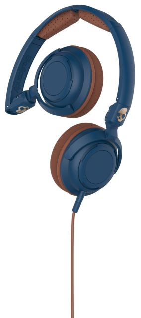 Casti Skullcandy Lowrider Navy/Brown Copper