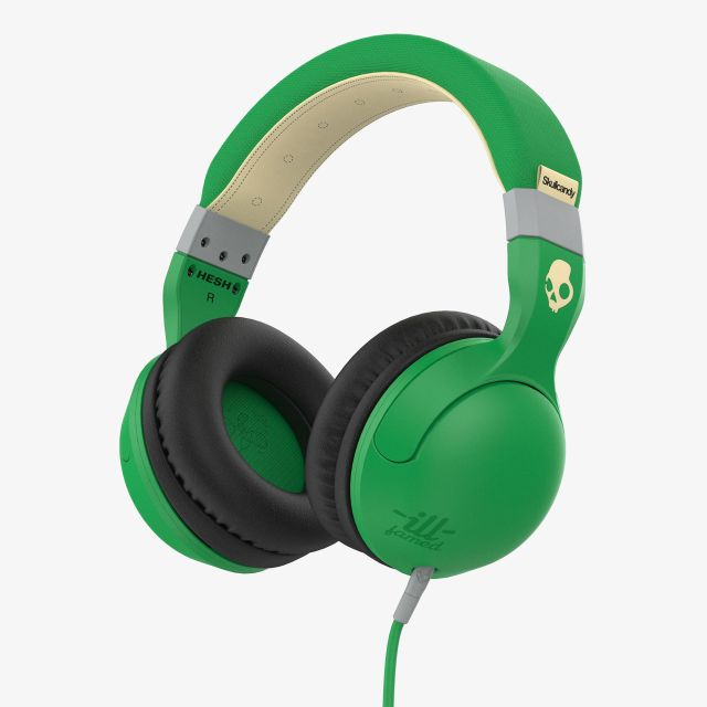 Casti Skullcandy Hesh ||| Famed/Green/Cream
