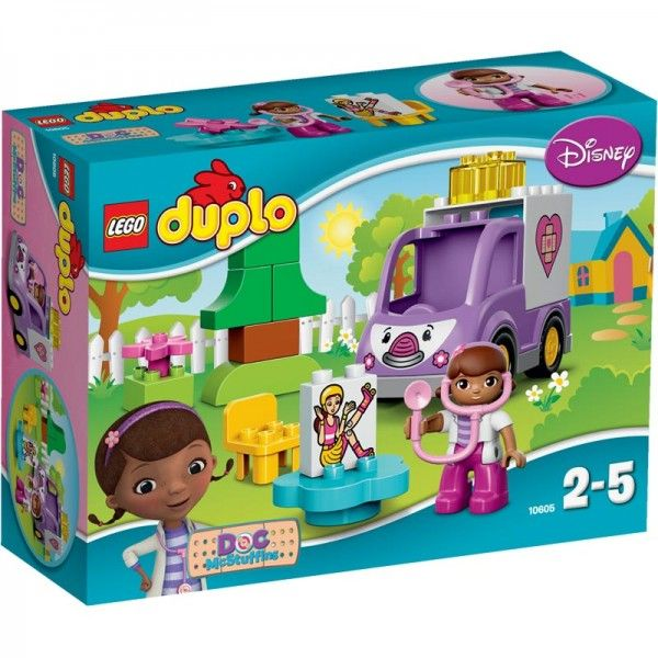Lego-Duplo,Ambulanta doctoritei Plusica
