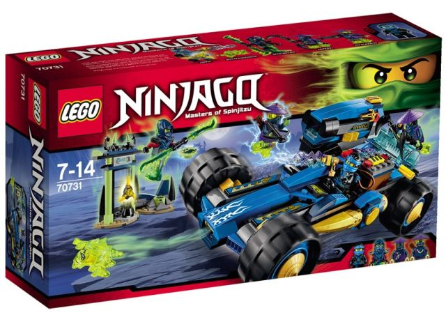 Lego-Ninjago,Vehiculul lui Jay