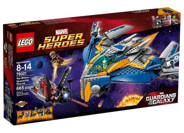 Lego-Super Heroes,Salvarea navei spatiale Milano