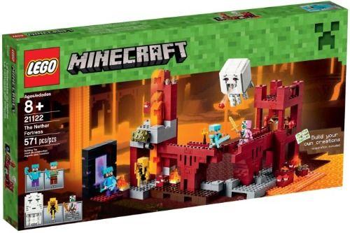 Lego-Minecraft,Fortareata din Nether