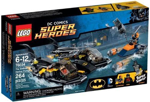 Lego-Super Heroes,Urmarirea in portul Batboat