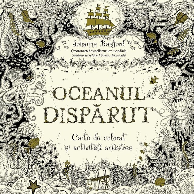 OCEANUL DISPARUT. CARTE DE...