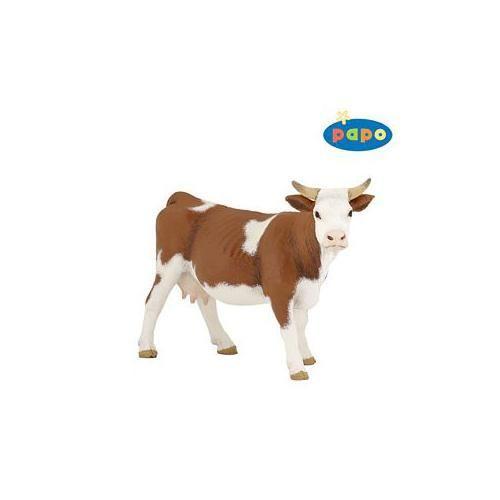 Figurina Papo,vaca Simmental