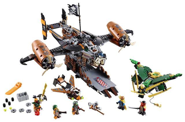 Lego-Ninjago,Nava Misfortune's Keep