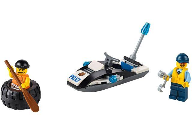 Lego-City,Evadare cu anvelopa