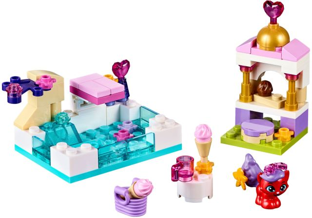 Lego-Disney Princess,Treasure la piscina