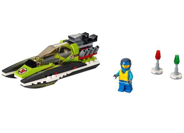 Lego-City,Barca de curse