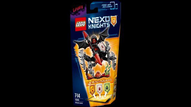 Lego-Nexo Knights,Suprema Lavaria