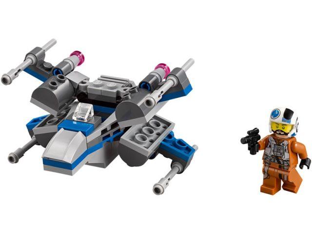 Lego-StarWars,X-Wing Fighter al Rezistentei