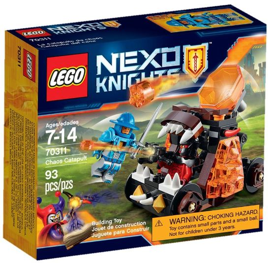 Lego-Nexo Knights,Catapulta...