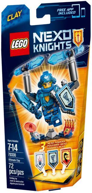 Lego-Nexo Knights,Supremul Clay