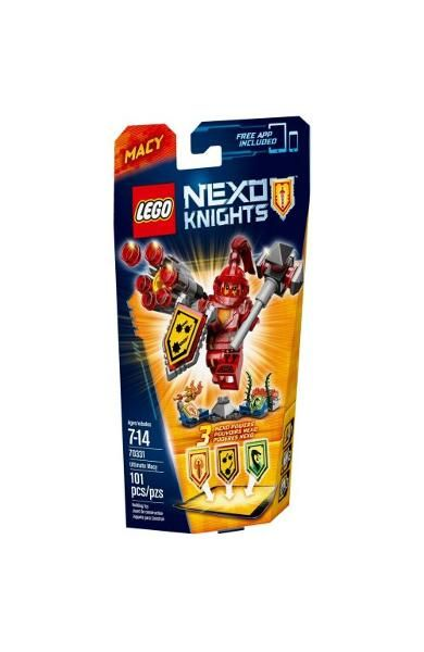 Lego-Nexo Knights,Suprema Macy