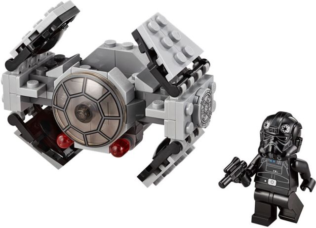 Lego-StarWars,TIE Advanced Prototype