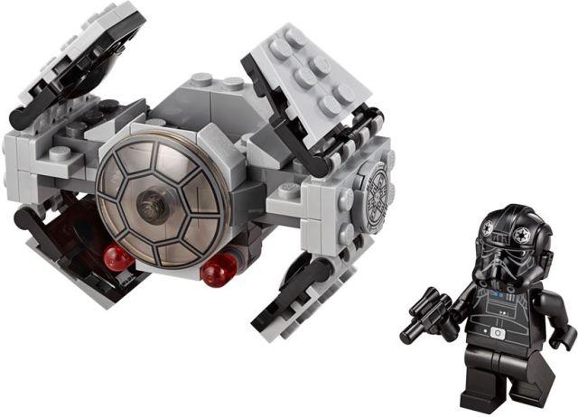 Lego-StarWars,TIE Advanced Prototype