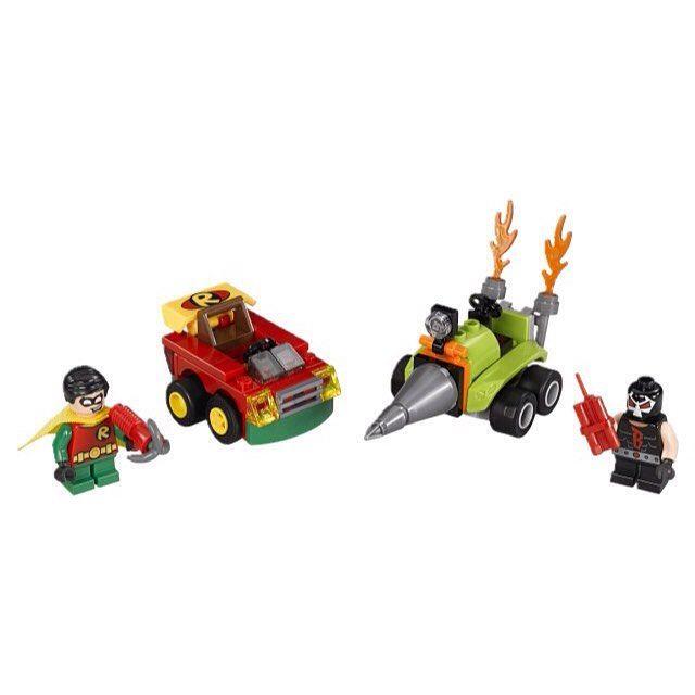 Lego-DC Comics Super Heroes,Robin vs. Bane