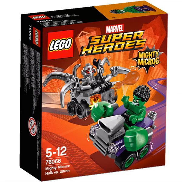 Lego-Super Heroes,Mighty Micros,Hulk contra Ultron