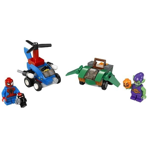 Lego-Super Heroes,Mighty Micros,Spider-Man vs. Green Goblin