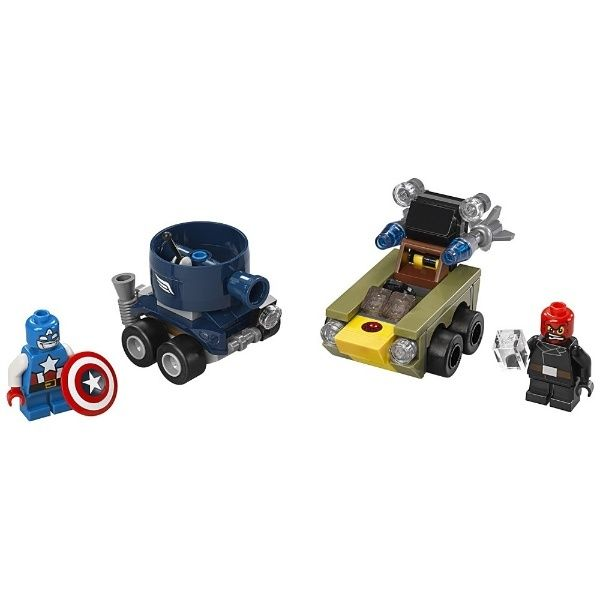 Lego-Super Heroes,Mighty Micros,Captain America contra Red Skull