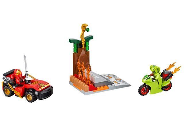 Lego-Juniors,Confruntarea cu...
