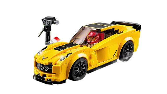 Lego-Speed Champions,Chevrolet Corvette Z06