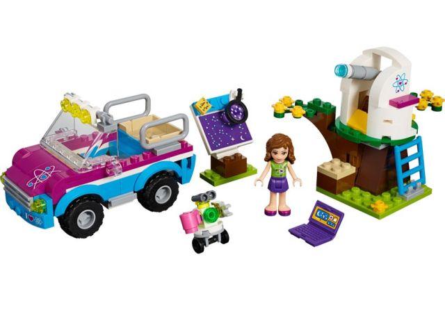 Lego-Friends,Ma?ina de explorari a Oliviei
