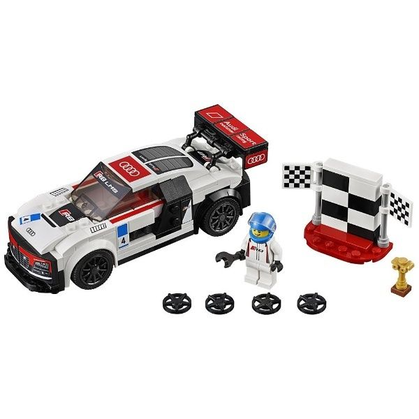 Lego-Speed Champions,Audi R8...