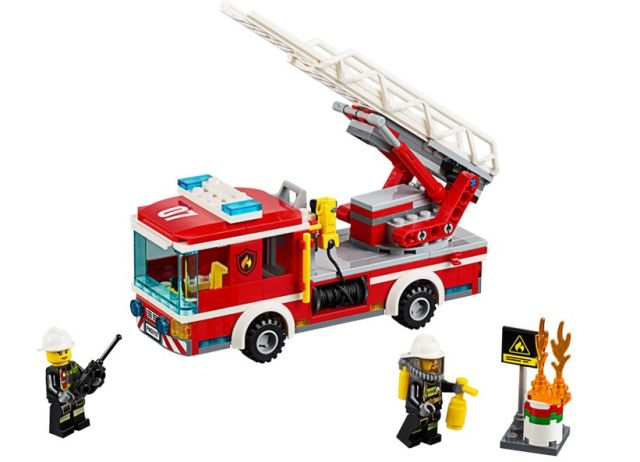 Lego-City,Camion de pompieri cu scara