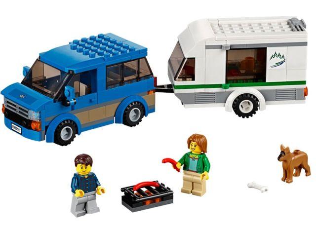 Lego-City,Furgoneta si rulota